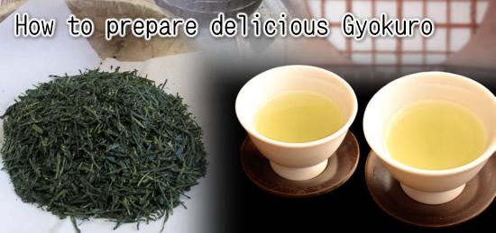 How To Prepare Delicious Gyokuro Superior Japanese Green Tea Maiko Tea Japan